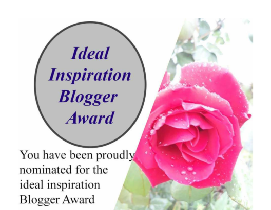 Ideal Inspiration Blogger Award logo
