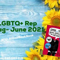 The LGBTQ+ Rep Book Tag- June 2021